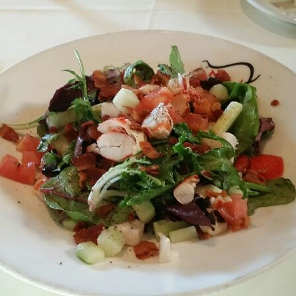 Lobster And Scallop Salad With Mesculin Greens - Mac's Steakhouse, Huntington, NY