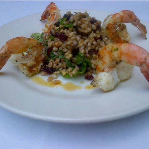 Shrimp & Farro Salad - Morso - NYC, New York, NY