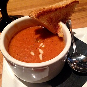 Tomato Bisque - Bonfyre American Grille, Madison, WI