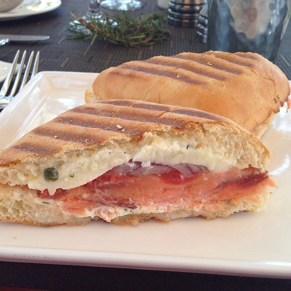 Smoked Salmon Panini - The Oak - Ojai Valley Inn, Ojai, CA