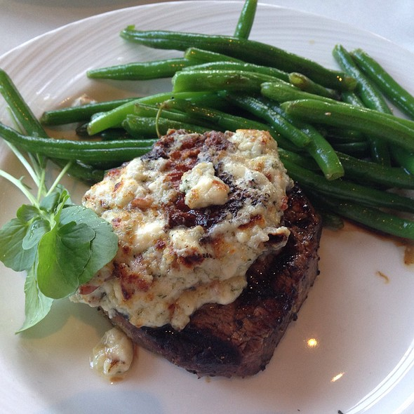 Petit Filet With Blue Cheese - Eddie Merlot's - Indianapolis, Indianapolis, IN