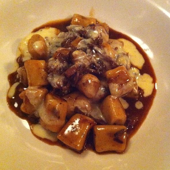 Mushroom Gnocchi & Lamb Shank - The Silverspoon Restaurant, Wayne, PA