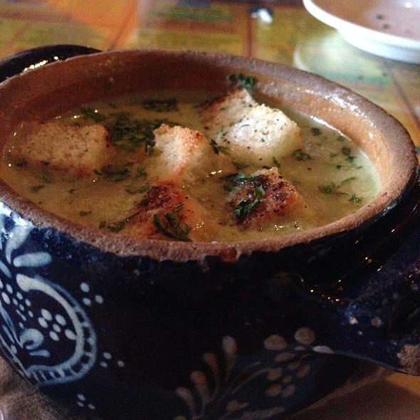 Potato Leek Soup - La Tarte Flambee - Upper East Side, New York, NY