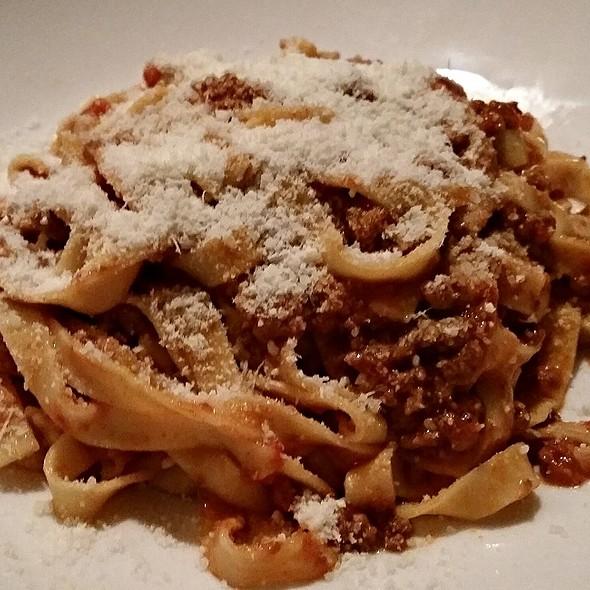 Fettucini with Veal Bolognese - Ristorante Divino, Columbia, SC