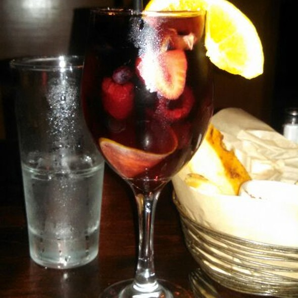 Red Sangria - Cafe Fiore, Ventura, CA