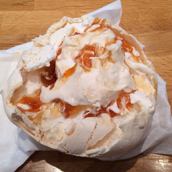 Apricot Meringue - Kingsbury Street Cafe, Chicago, IL