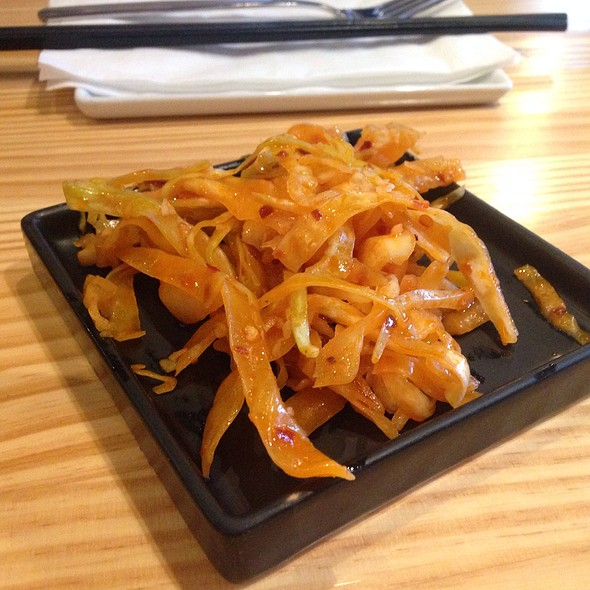 Spicy Cabbage Appetizer - Lao Sze Chuan Uptown, Chicago, IL