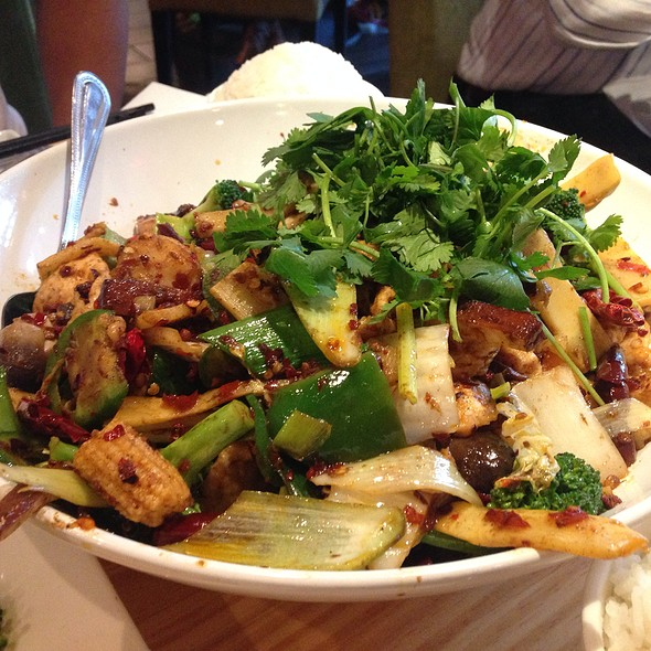 House Special Hot And Spicy Pot - Lao Sze Chuan Uptown, Chicago, IL