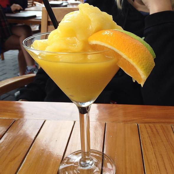 Mango Margarita - Mahony & Sons - Burrard Landing, Vancouver, BC