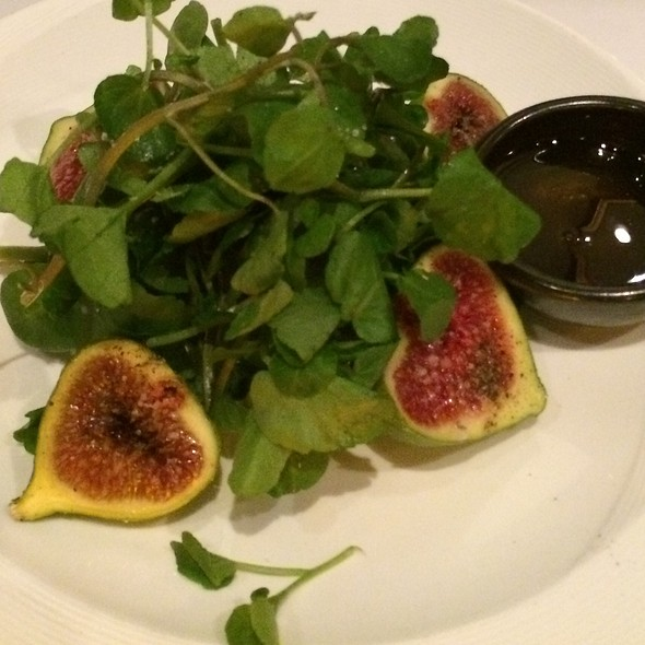 Watercress And Fig Salad - Cafe La Haye, Sonoma, CA