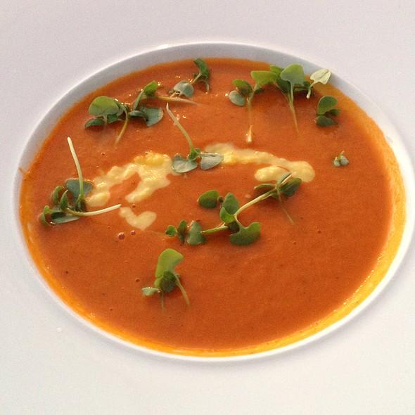 Tomato Bisque - JRDN Restaurant, San Diego, CA