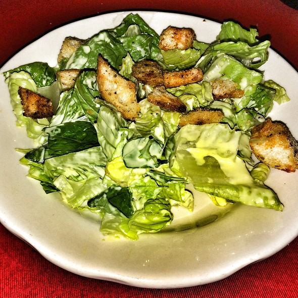 Caesar Salad - Supano's Steakhouse, Italian & Seafood, Baltimore, MD