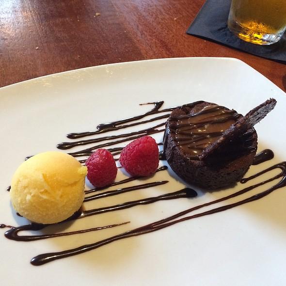 flourless chocolate cake - Stumbling Goat Bar and Bistro, Seattle, WA