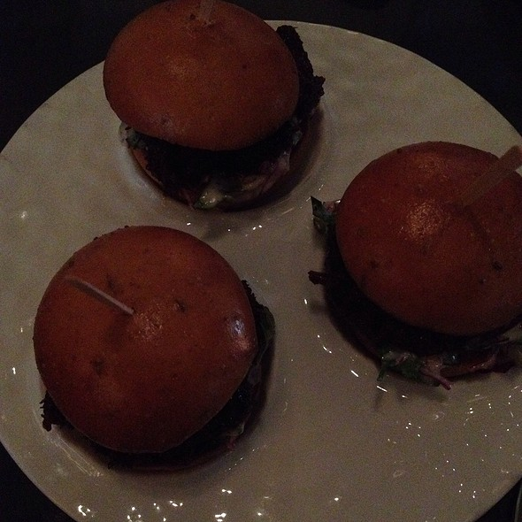Short Rib Sliders - BOURBON STEAK San Francisco, San Francisco, CA