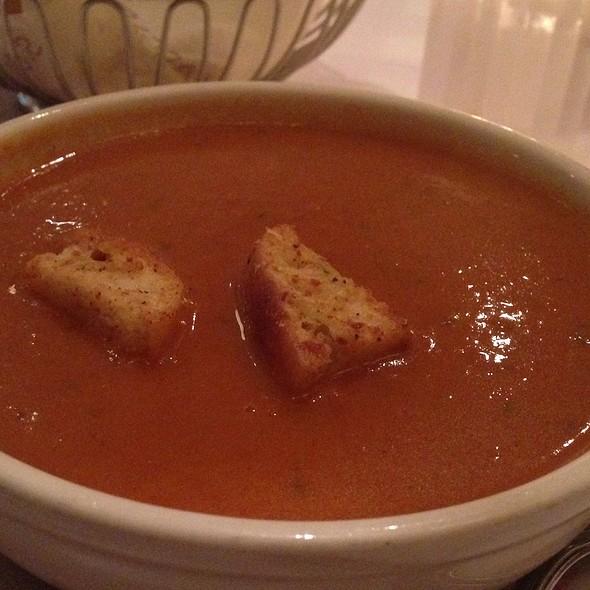 Creamy Tomato Basil Soup - Maggiano's - Austin, Austin, TX