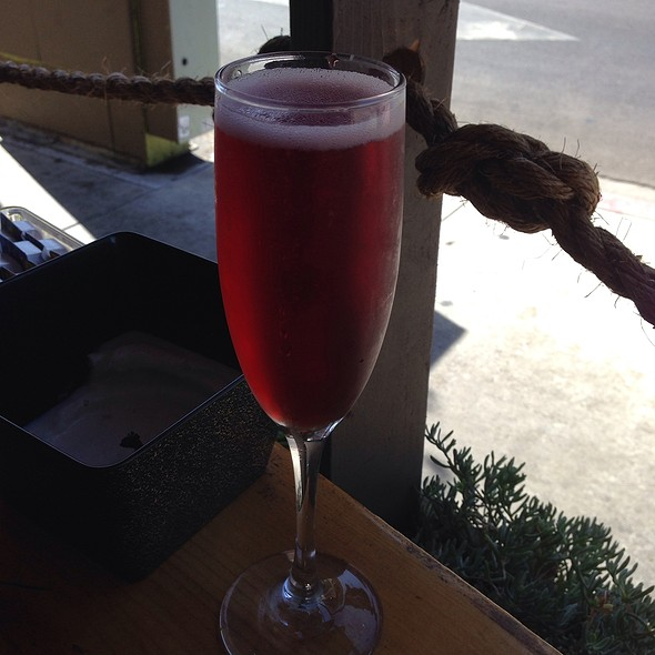 Pomegranate Bellini - Fig Tree Cafe - Hillcrest, San Diego, CA