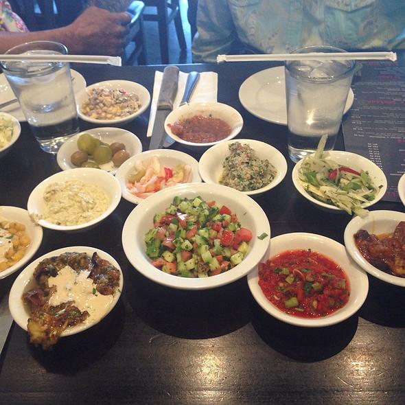 Appetizer Sampler - Hummus Bar & Grill, Tarzana, CA