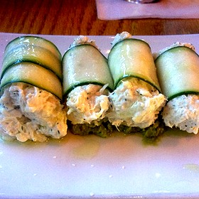 Crab Cucumber Rolls - UPSTAIRS 2, Los Angeles, CA