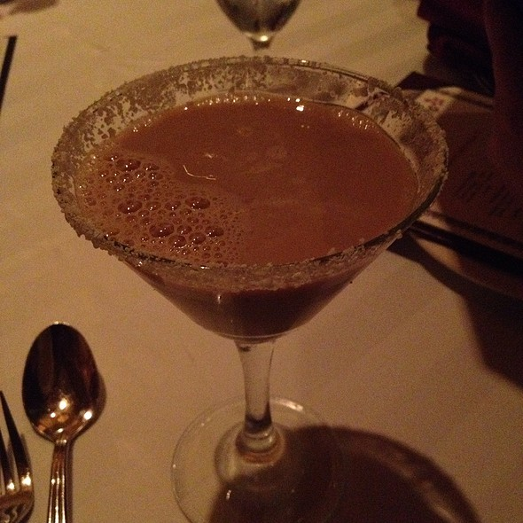 Chocolate Diva Martini - Roxy - Eldorado Resort Casino, Reno, NV