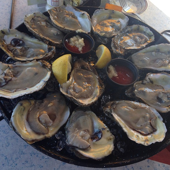 Oysters - Bahrs Landing, Highlands, NJ