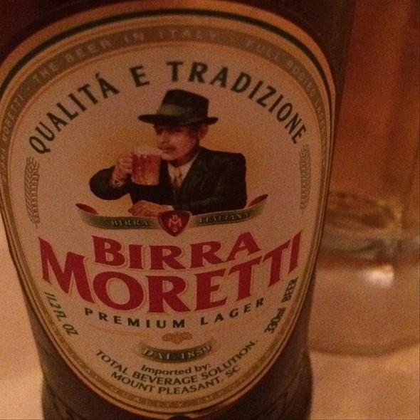 Birra Moretti - Trattoria I Trulli, Encinitas, CA