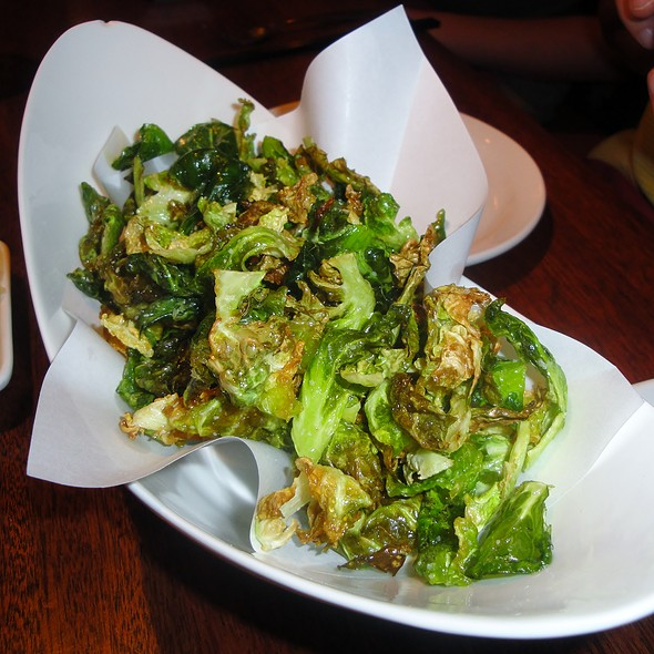 Fried Brussels Sprouts - East by Southwest, Durango, CO