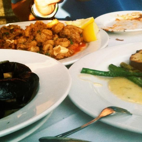 Frito Misto, Wild Boar Ragu,And Mussels - Siena Ristorante Toscana, Austin, TX