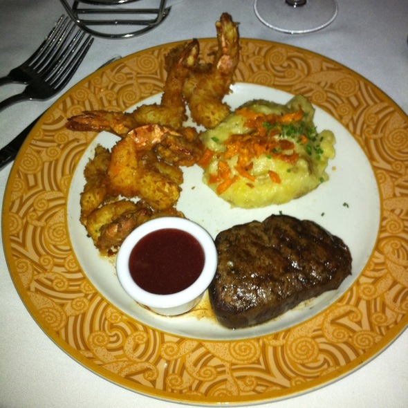 Fillet & Coconut Shrimp - Chart House Restaurant - Scottsdale, Scottsdale, AZ