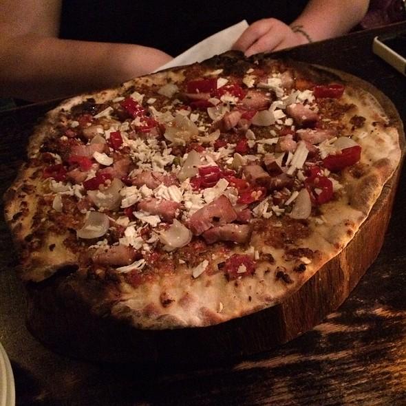 Pork Belly Pizzetta - Three Aces, Chicago, IL