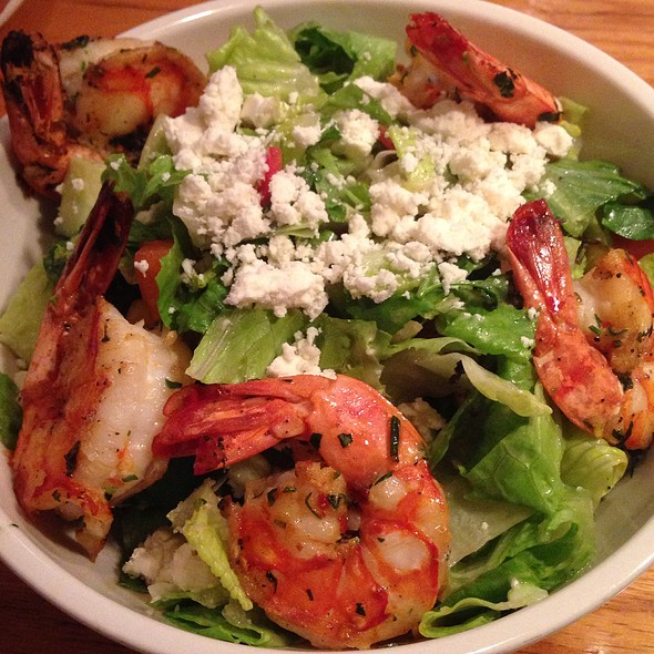 Mediterranean Salad With Shrimp - The Smith - East Village, New York, NY