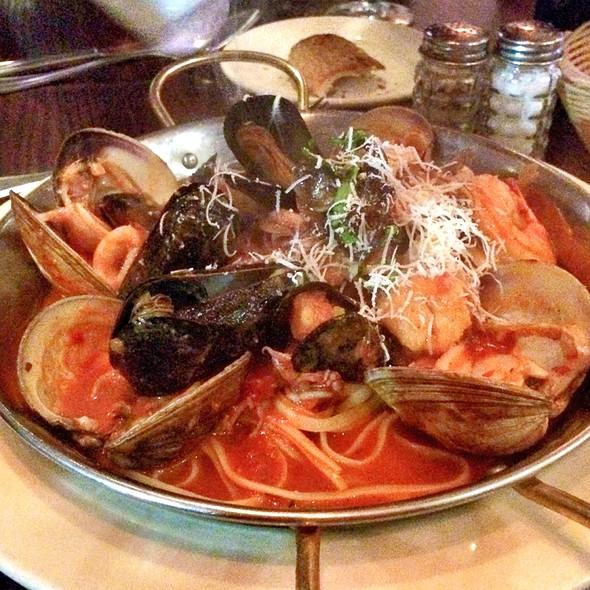 Seafood Pasta Fra Diavolo - Rabia's, Boston, MA