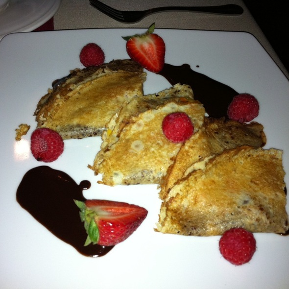 Chocolate Crepe - Peter's Restaurante, Cancún, ROO