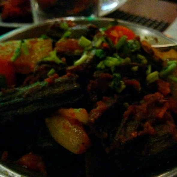 Bhindi Do Piaza - Tamba Indian Grill and Bar, New York, NY