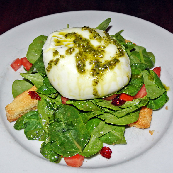 Burrata - Nob Hill Grille, San Francisco, CA