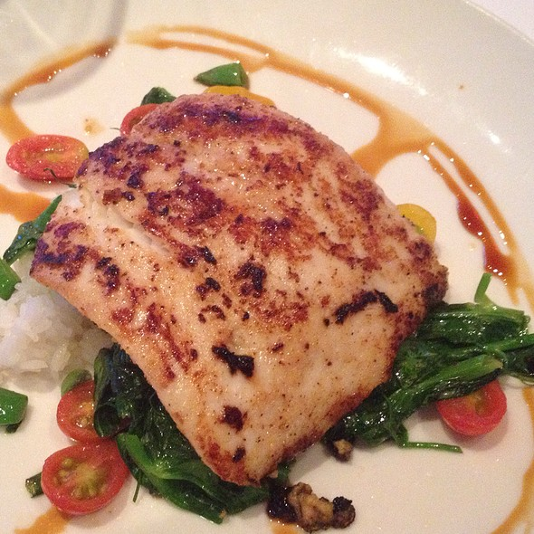Soy Glazed Wild Alaskan Halibut - Cutters Crabhouse, Seattle, WA