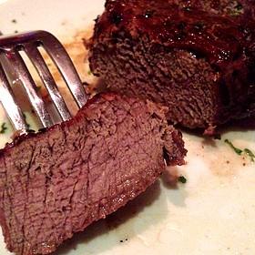 Main filet mignon - Fleming's Steakhouse - Austin The Domain, Austin, TX