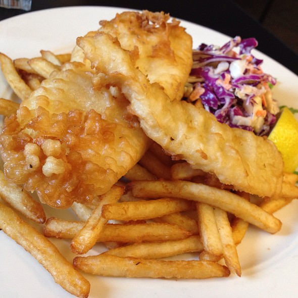 Cod Fish and chips - FareStart, Seattle, WA