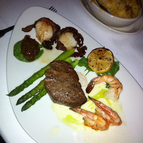 Filet Mignon, Shrimp And Scallops - Morton's The Steakhouse - Louisville, Louisville, KY