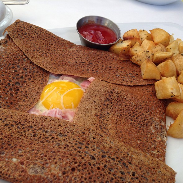 Breakfast Crepe - Cafe Beau Soleil, Newport Beach, CA