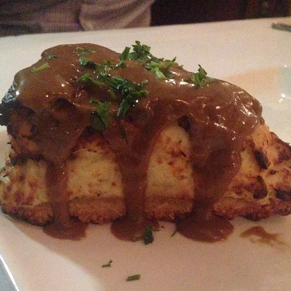 Crabmeat Cheesecake - Gaido's Seafood Restaurant, Galveston, TX