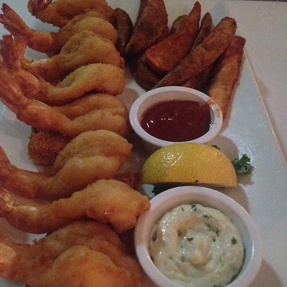 Fried Shrimp Plate - Gaido's Seafood Restaurant, Galveston, TX