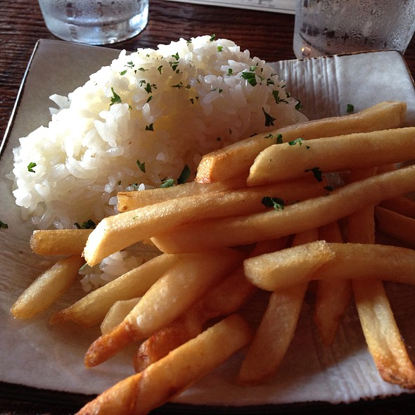 Side Of Rice & Fries - Los Balcones del Peru, Los Angeles, CA