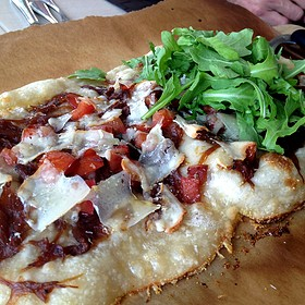 Warm Baked Flatbread - Bistro 67, Whitby, ON