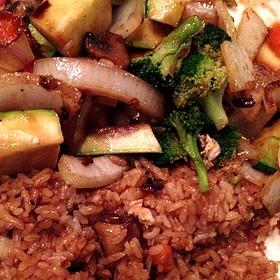 Vegetable Hibachi - Osaka Japanese Sushi and Steakhouse, Brookline, MA