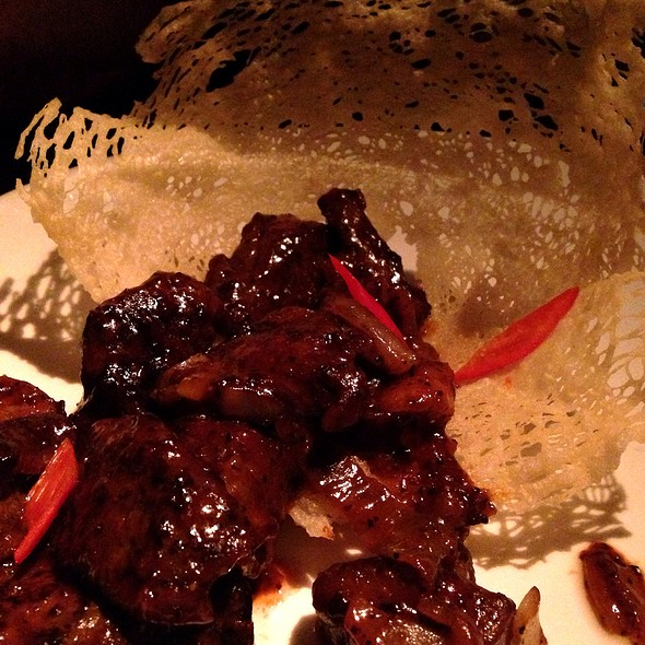 black pepper beef - Buddakan NY, New York, NY