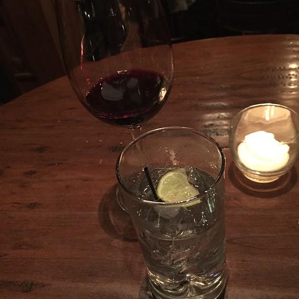 Cabernet Sauvignon And Vodka Tonic - Hendrick's Tavern, Roslyn, NY