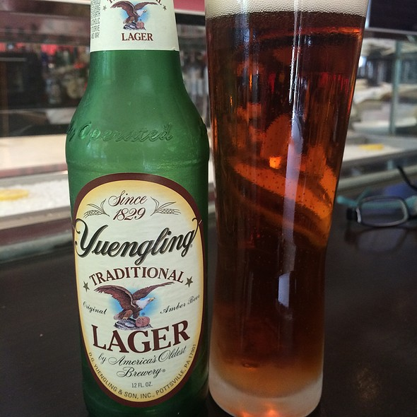 Yuenling Lager Beer - Meat Market, Miami Beach, FL