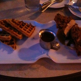 Chicken and Waffles - 20 Brix, Milford, OH