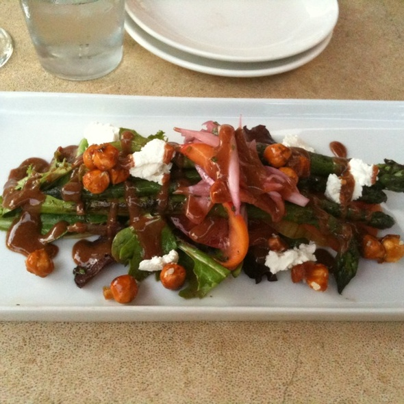Grilled Asparagus Salad - 20 Brix, Milford, OH