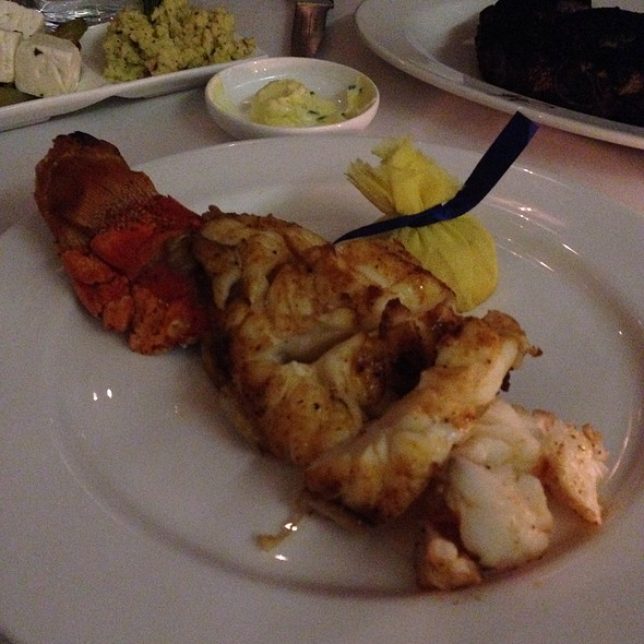 Broiled Caribbean Lobster Tail - Harbour Sixty, Toronto, ON